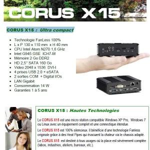 CORUS PC X15