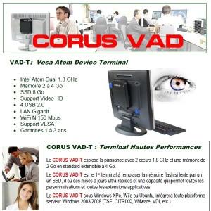 CORUS PC Terminal